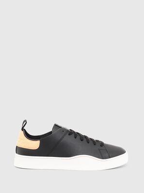 S-CLEVER LS, Black/Orange - Sneakers