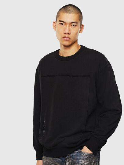 Diesel - S-BAY-RAW, Black - Sweaters - Image 1