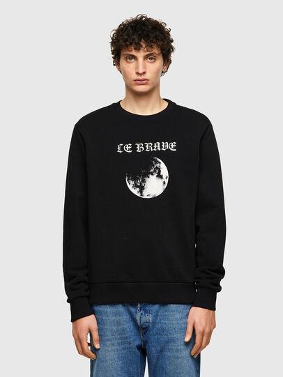 Diesel - S-GIRK-B4, Black - Sweaters - Image 1