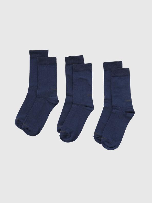 SKM-RAY-THREEPACK, Blue - Socks