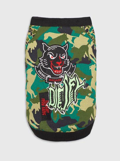 Diesel - PET-WOLF-CMF, Green Camouflage - Other Accessories - Image 3