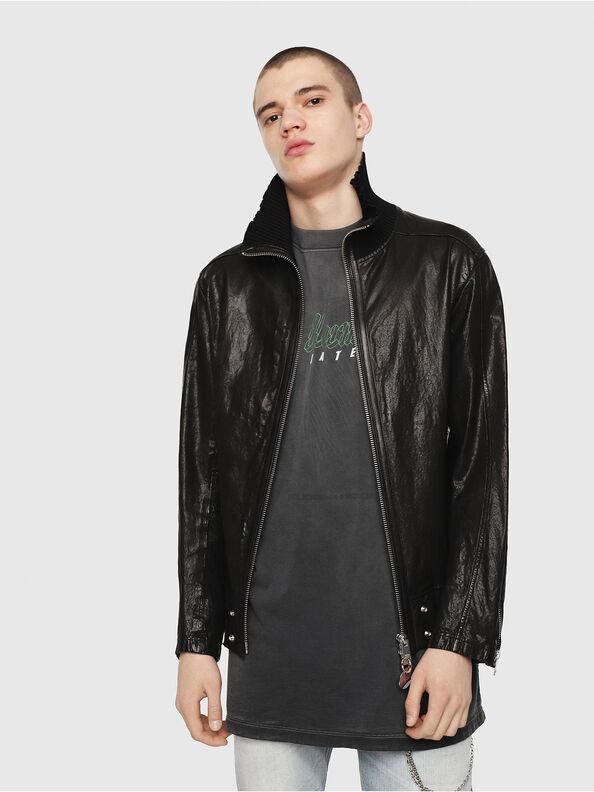 L-LYSSEN,  - Leather jackets