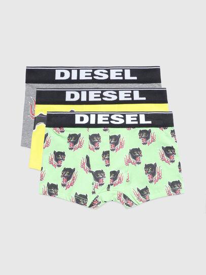 Diesel - UMBX-UDAMIENTHREEPAC, Green/Grey - Underwear - Image 1