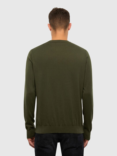 Diesel - K-FREEX-B, Military Green - Knitwear - Image 2