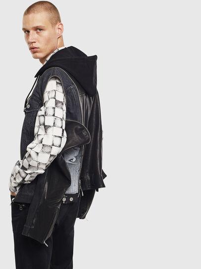 Diesel - D-LOSTY-SY, Black - Leather jackets - Image 5