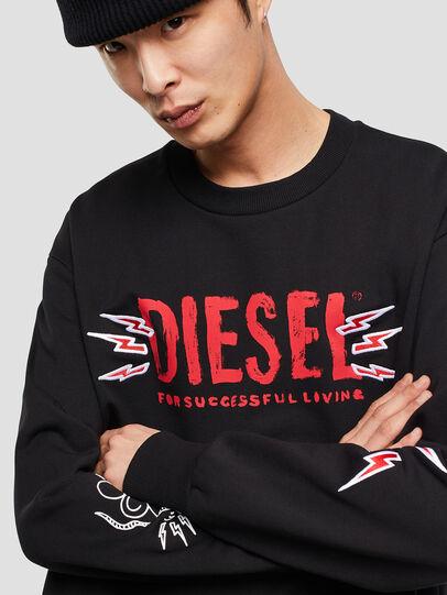 Diesel - CL-SNOR-LITMA, Black - Sweaters - Image 4