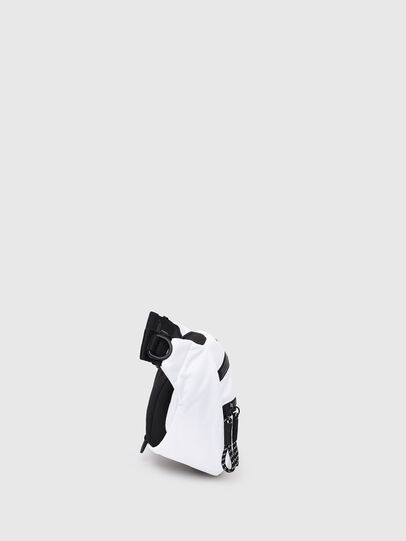 Diesel - F-URBHANITY BUMBAG, Silver - Belt bags - Image 3