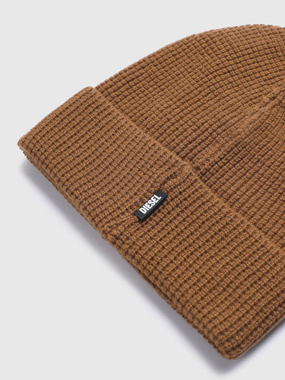 Diesel - K-ABILENE, Light Brown - Knit caps - Image 3