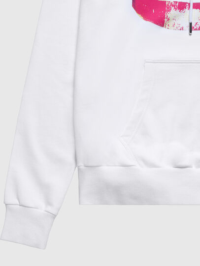 Diesel - US-S-ALBY, White - Sweaters - Image 5