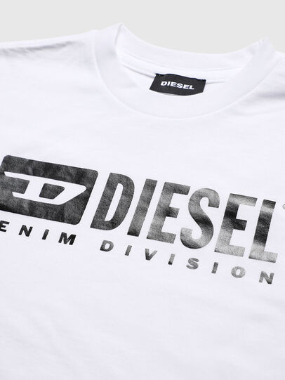 Diesel - TJDIVISION, White - T-shirts and Tops - Image 3