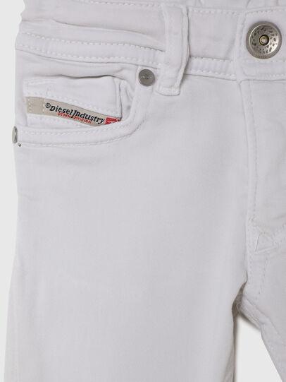 Diesel - SLEENKER-B JOGGJEANS-N, White - Jeans - Image 3