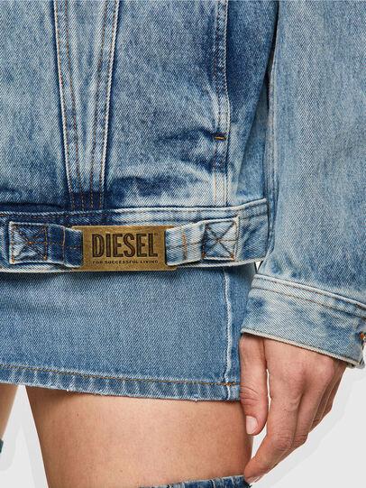 Diesel - NHILL-C1, Light Blue - Denim Jackets - Image 6