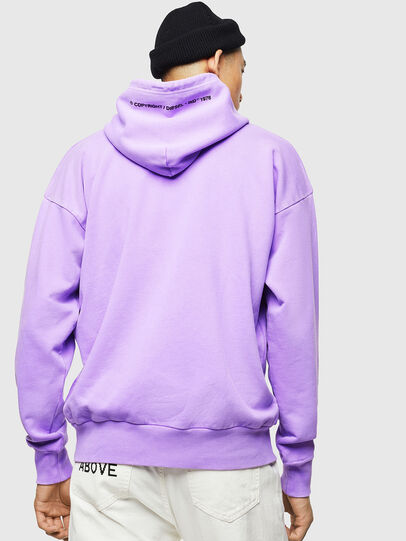 Diesel - S-ALBY-FLUO, Lilac - Sweaters - Image 3