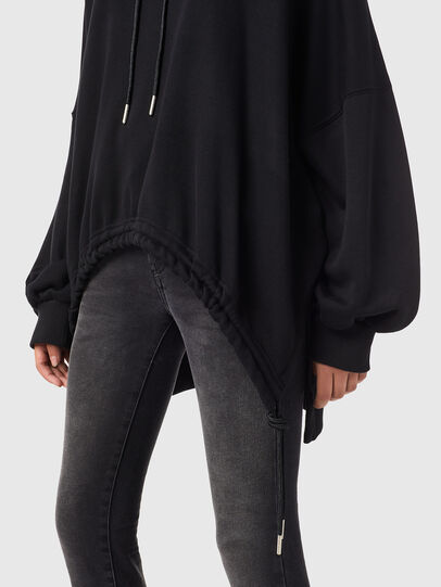 Diesel - F-JUSTINA-B1, Black - Sweaters - Image 3