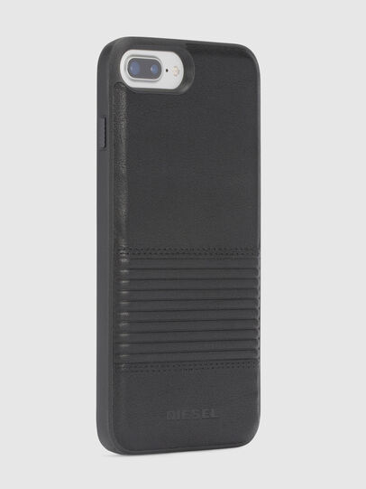 Diesel - BLACK LINED LEATHER IPHONE 8/7/6s/6 CASE,  - Cases - Image 5