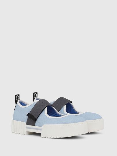 Diesel - H-MERLEY B, Azure - Sneakers - Image 2