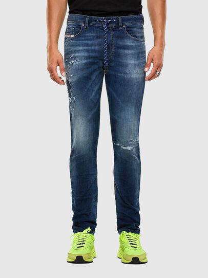 Diesel - Thommer JoggJeans 069PL, Dark Blue - Jeans - Image 1