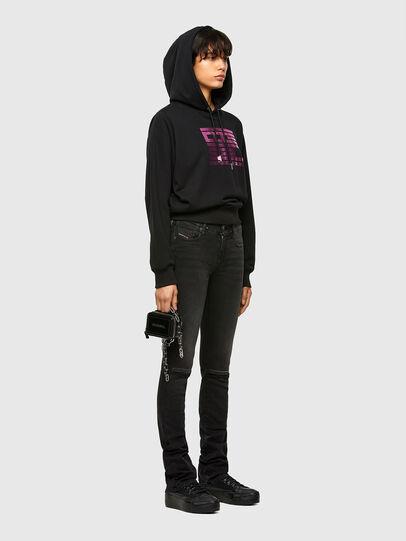 Diesel - F-ANG-HOOD-K23, Black - Sweaters - Image 4