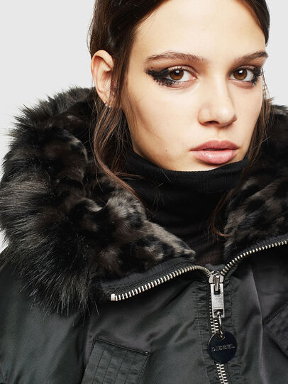 Diesel - W-ISOKE-A, Black - Winter Jackets - Image 6
