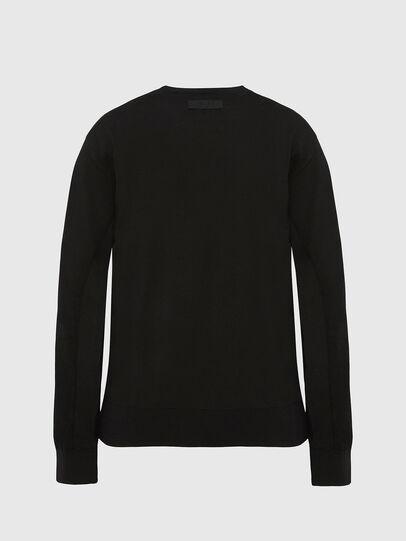Diesel - M-TERESA, Black - Knitwear - Image 2
