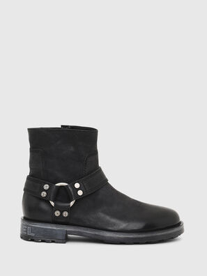 D-THROUPER ABZ, Black - Boots