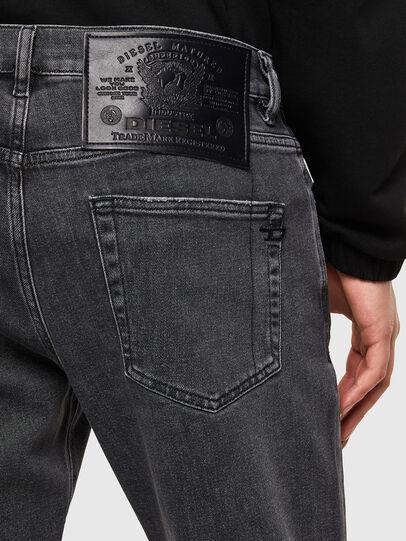 Diesel - D-Strukt 009RE, Black/Dark grey - Jeans - Image 4