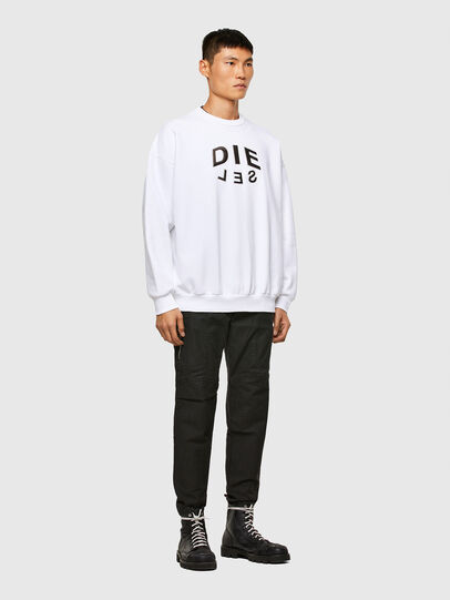 Diesel - S-MART-A90, White - Sweaters - Image 4