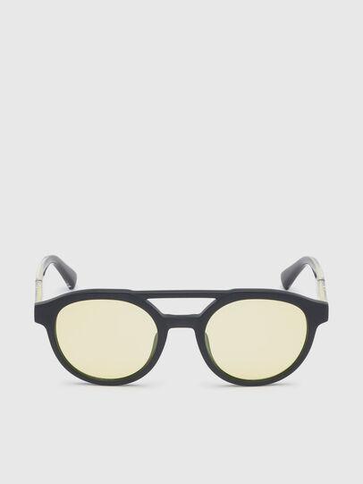 Diesel - DL0280, Black/Yellow - Sunglasses - Image 1