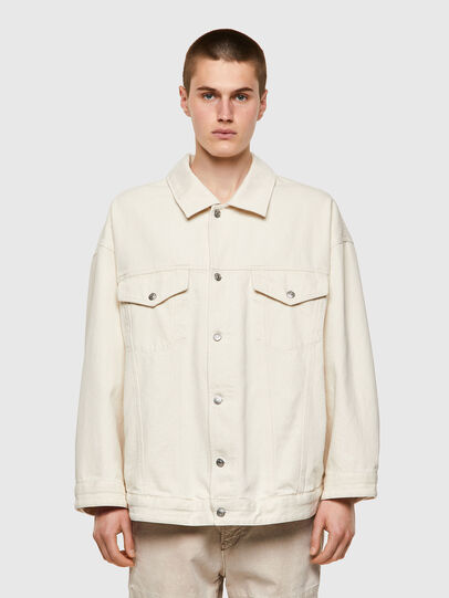 Diesel - DE-SOJO, White - Denim Jackets - Image 1
