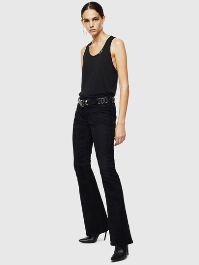 Diesel - D-Ebbey 0091I, Black/Dark grey - Jeans - Image 7