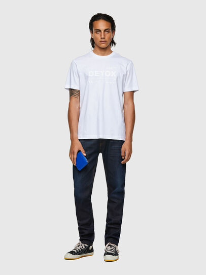 Diesel - T-JUST-B63, White - T-Shirts - Image 4