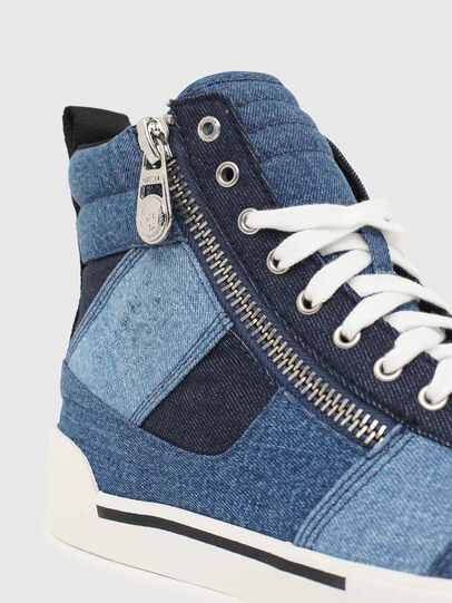 Diesel - S-DVELOWS MID CUT, Blue - Sneakers - Image 4