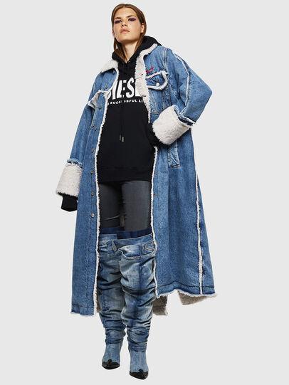 Diesel - DE-VALY, Medium blue - Winter Jackets - Image 1