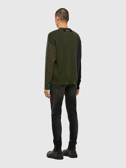 Diesel - K-MOSES, Olive Green - Knitwear - Image 6