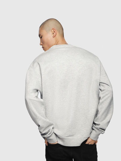 Diesel - S-LINK, Light Grey - Sweaters - Image 3