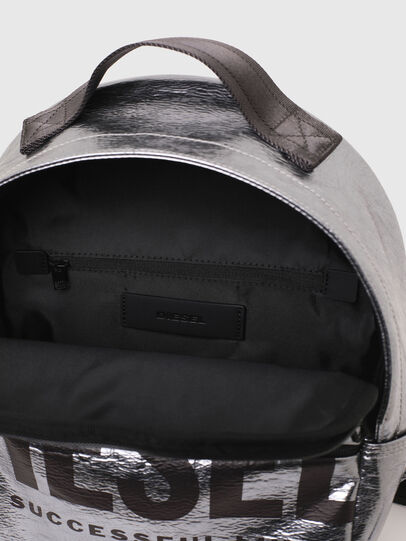 Diesel - F-BOLD BACK FL II, Silver - Backpacks - Image 4
