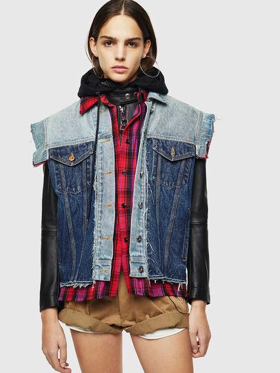 Diesel - L-MARALI,  - Leather jackets - Image 1