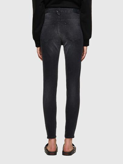 Diesel - Slandy High 069SB, Black/Dark grey - Jeans - Image 2