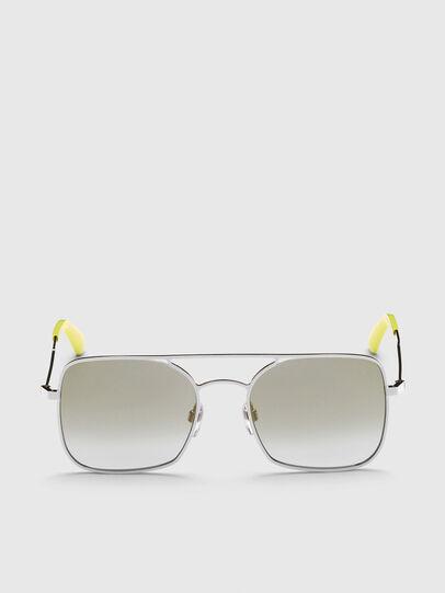 Diesel - DL0302, Silver - Sunglasses - Image 1