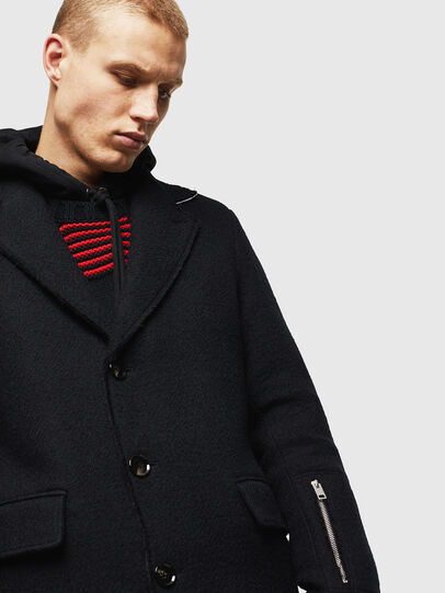 Diesel - W-BOGART, Black - Winter Jackets - Image 2