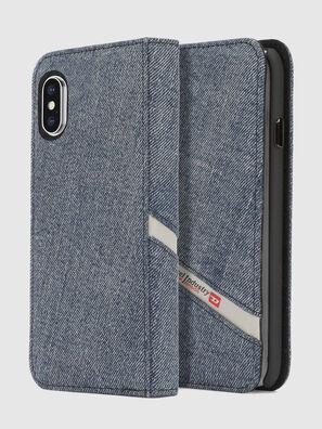 DENIM IPHONE X FOLIO, Blue Jeans - Flip covers