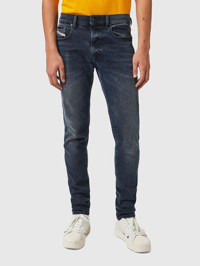 Diesel - D-Strukt 09B25, Dark Blue - Jeans - Image 1