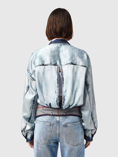 Diesel - C-SUKI, Light Blue - Shirts - Image 3