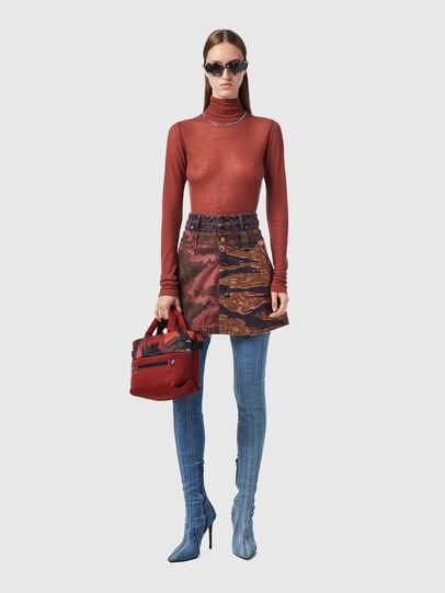 Diesel - O-GIU, Pink/Brown - Skirts - Image 4