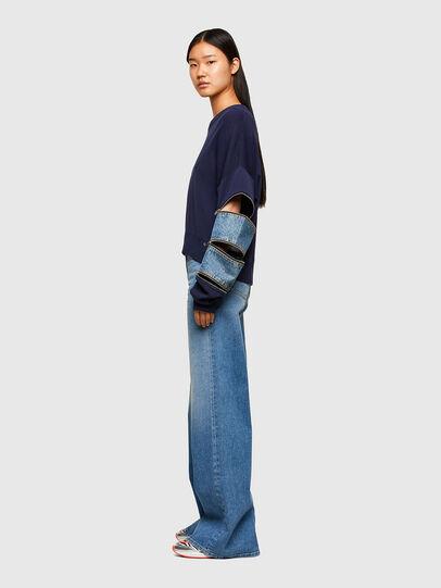 Diesel - M-AQUAMARINE, Blue - Knitwear - Image 5