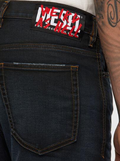 Diesel - D-Vider JoggJeans 009HE, Dark Blue - Jeans - Image 5