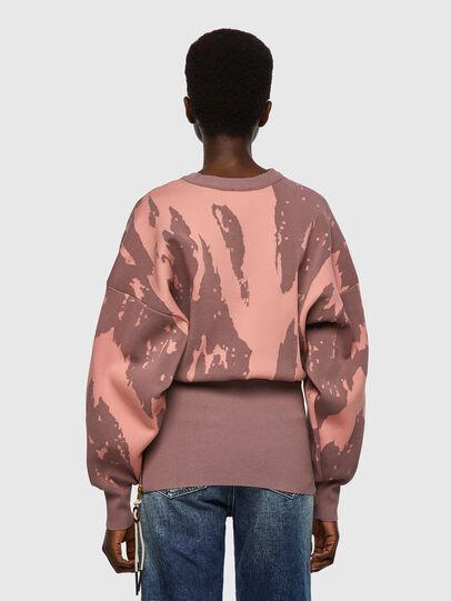 Diesel - M-ALABAMA, Pink - Knitwear - Image 2