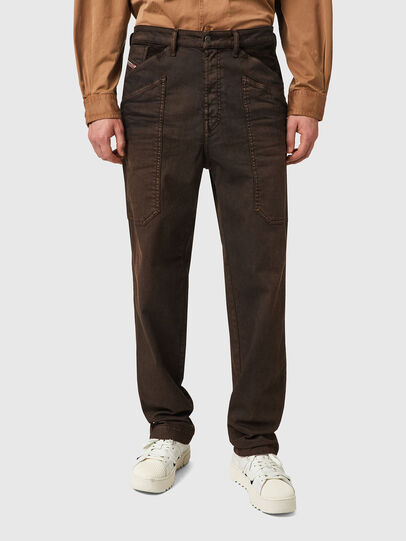 Diesel - D-Franky 09B38, Brown - Jeans - Image 1