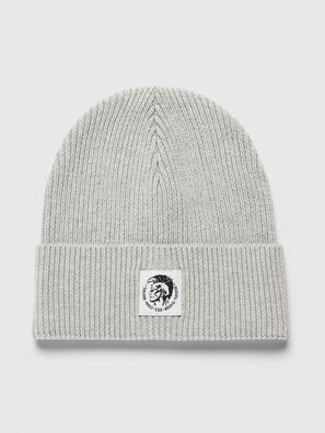 K-CODER-F, Light Grey - Knit caps