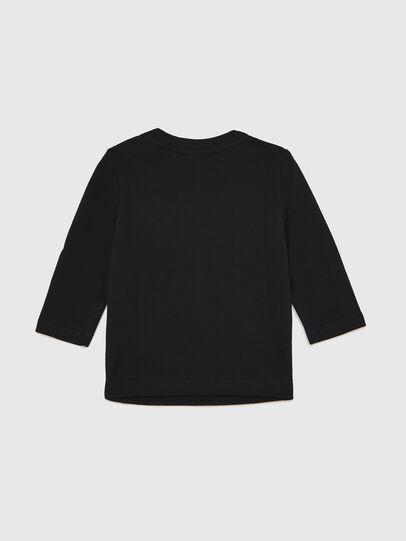 Diesel - TJUSTLOGOB ML, Black - T-shirts and Tops - Image 2